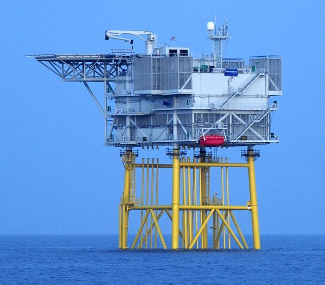 Amrumbank West offshore substation