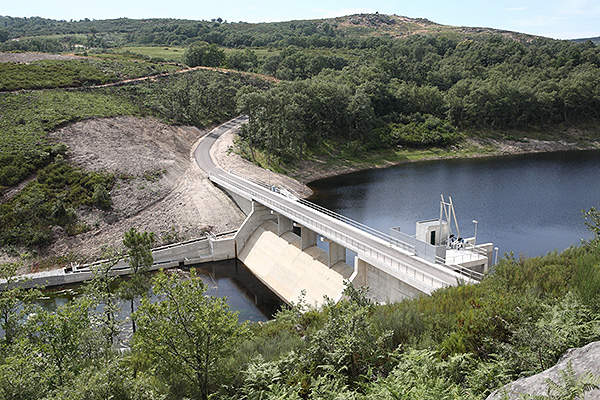 The Canedo hydropower project is located in Braganca, Trás-os-Montes, in northern Portugal. Image courtesy of Aqualogus.