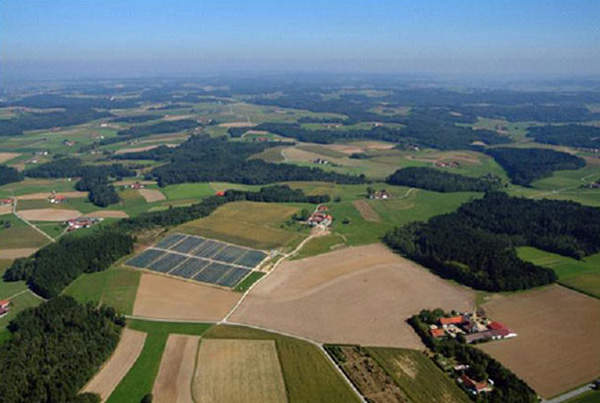 The Bavaria Solarpark is a German photovoltaic solar power project that was opened in 2005.