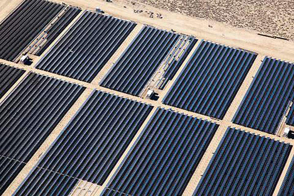 The Antelope Valley Solar Ranch One project will have an installed capacity of 230MW. Photo: Business Wire.