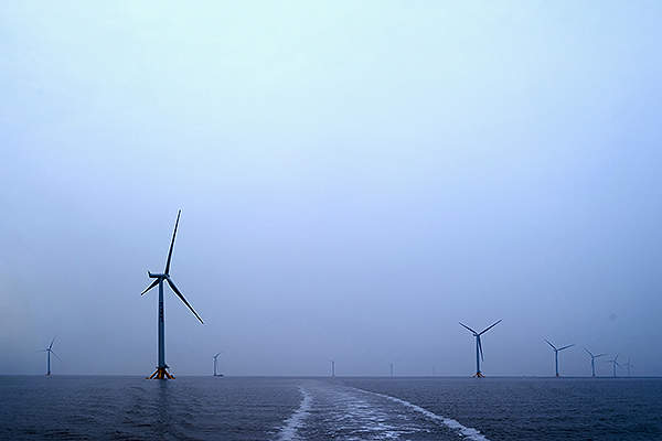 The Jiangsu Rudong offshore wind farm was commercially operational by the end of 2012. Image: Siemens press picture.