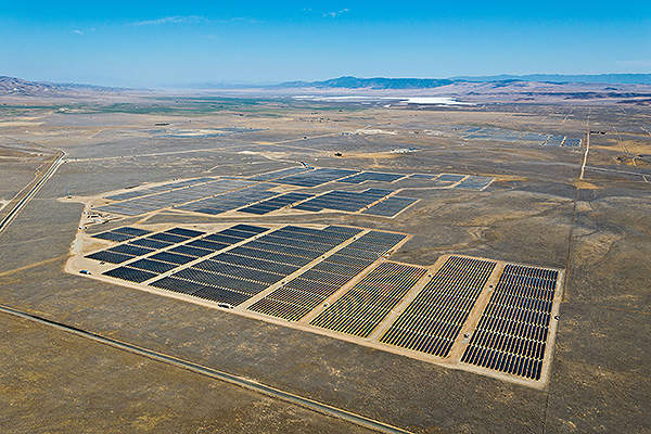 The California Valley Solar Ranch, located in San Luis Obispo County, has an installed capacity of 250MW.