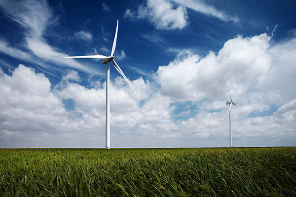 Cedar Point Wind Farm is owned by Enbridge and developed by RES Americas. Image courtesy of Enbridge.