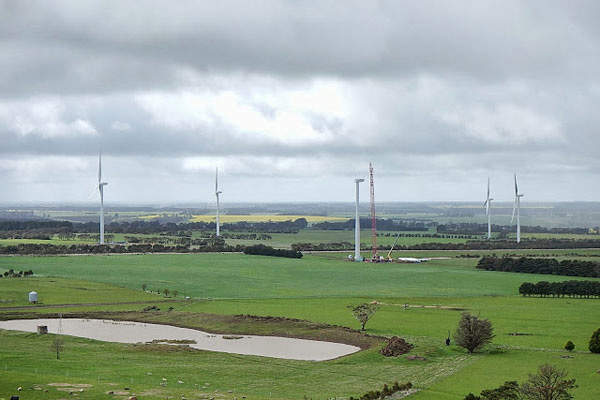 Mt Mercer is a 131MW wind energy project in Victoria, Australia.
