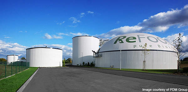 The ReFood biomass to energy plant is located in Doncaster, UK. Image courtesy of PDM Group.