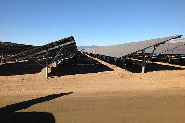 Catalina Solar Power Plant Renewable Technology