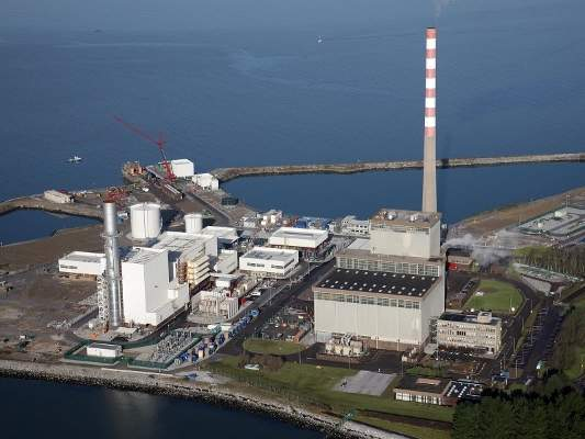 The new Aghada Power Plant is an upgrade to the old Aghada Generating Station, which is located near the entrance of Cork Harbour in Ireland. Image courtesy of ESB.