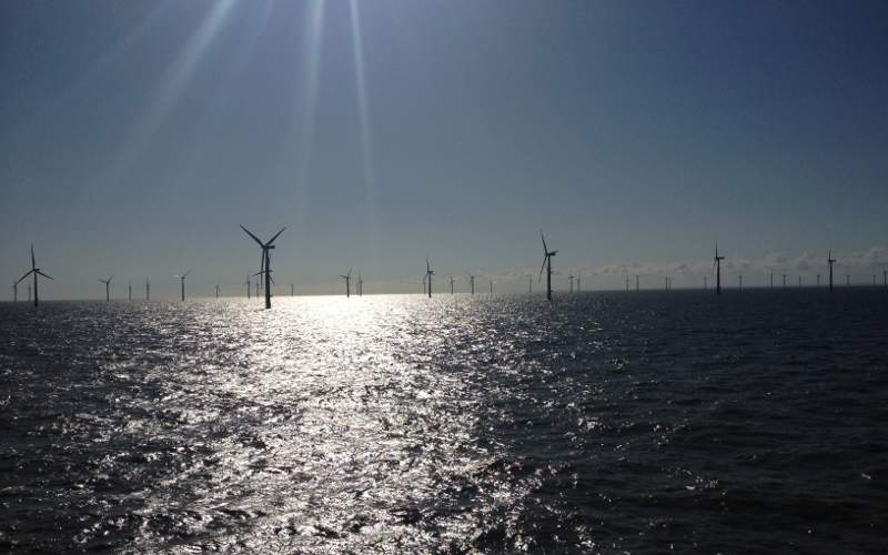 The Lincs offshore wind farm features 75 Siemens 3.6MW wind turbines. Image courtesy of Siemens.