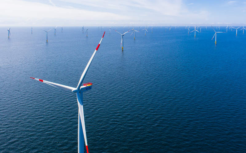 The 288MW EnBW Baltic 2 offshore wind farm is equipped with 80 Siemens SWT-3.6-120 wind turbines. Image: courtesy of EnBW Energie Baden-Württemberg.