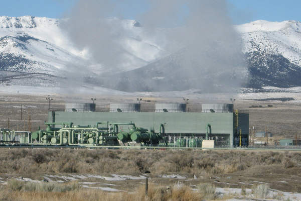 Unit 1 of the Raft River geothermal project has a capacity of 10MW. Image courtesy of U.S. Geothermal, Inc.