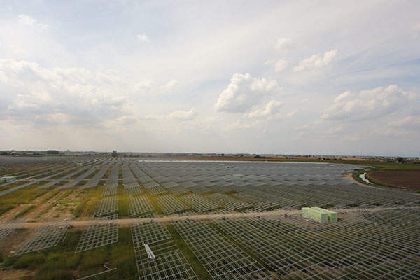 First Reserve acquired the 70MW SunEdison solar power plant in Rovigo in October 2010. Image courtesy of Isolux Corsan.