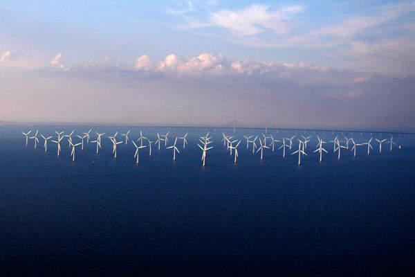 The 110.4MW Lillgrund offshore wind farm at Öresund, near Malmö, is Sweden's largest wind farm and the world's third largest offshore wind farm.