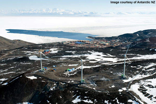 The Ross Island wind farm is a 0.99MW wind farm located in the southern most region of the world.