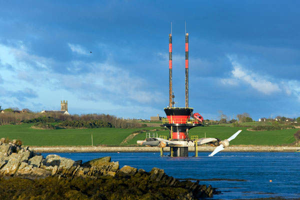 Strangford Lough Tidal Turbine Northern Ireland