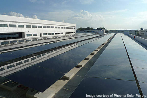 The Phoenix Solar Thin-Film Photovoltaic Plant is Singapore's biggest thin-film photovoltaic (PV) plant.