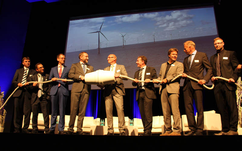 The Butendiek offshore wind farm was officially inaugurated in September 2015. Image: courtesy of WPD.