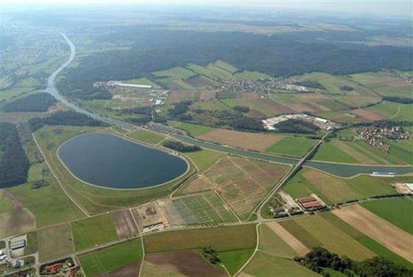 The solar photovoltaic project was built on three different sites in Bavaria, Germany.