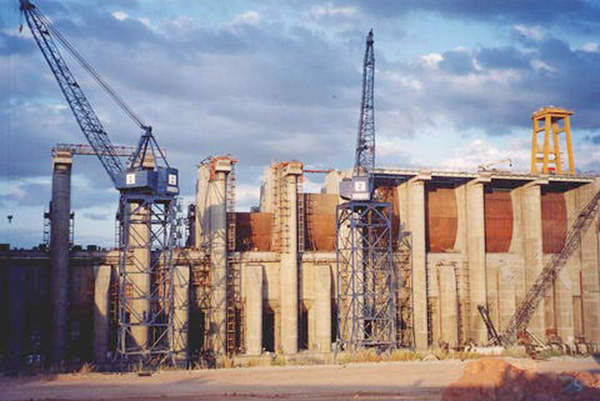 The construction of the Caruachi project was initiated in 1998 and completed in 2006.