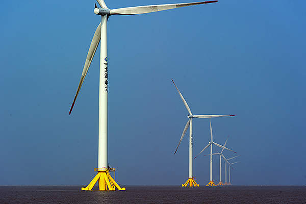 Siemens supplied 21 wind turbines rated at 2.38MW for the project. Image: Siemens press picture.