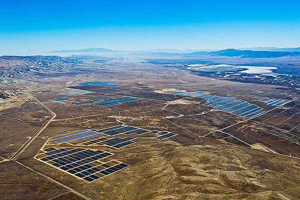One of the world's largest photovoltaic (PV) solar plants, California Valley Solar Ranch can power 100,000 homes annually.