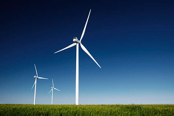 With an installed capacity of 250MW, Cedar Point Wind Farm is the second biggest wind facility in Colorado. Image courtesy of Enbridge.
