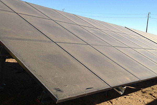 The project comprises more than 1.1million photovoltaic modules.