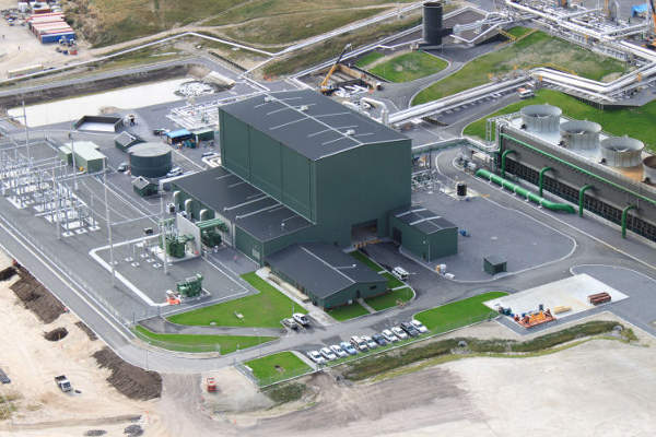 The power station has a generating capacity of 140MW. Image: courtesy of Mighty River Power.