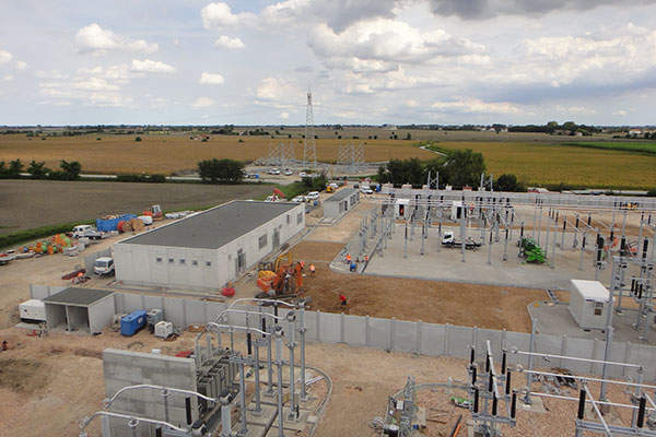 The plant includes an 80MVA substation. Image courtesy of Isolux Corsan.