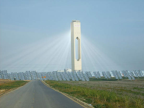 Solana will be the largest concentrating solar power plant in the world.