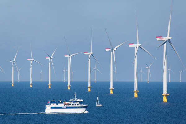 The project comprises 111 Siemens SWP 3.6-120 wind turbines with a generation capacity of 3.6MW each.