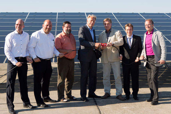 The 128.5MW PV plant was commissioned in April 2013.