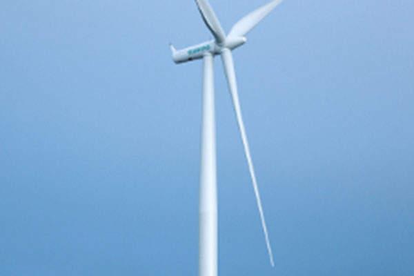The 115MW wind farm is installed with 50 Siemens 2.3MW wind turbines.