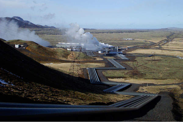 The power plant is located in the Hengill geothermal area, which is one of the biggest high-temperature geothermal fields in Iceland. Image: courtesy of Rehman.