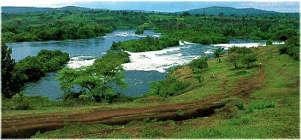 The Bujagali hydropower project is built on the Victoria Nile.