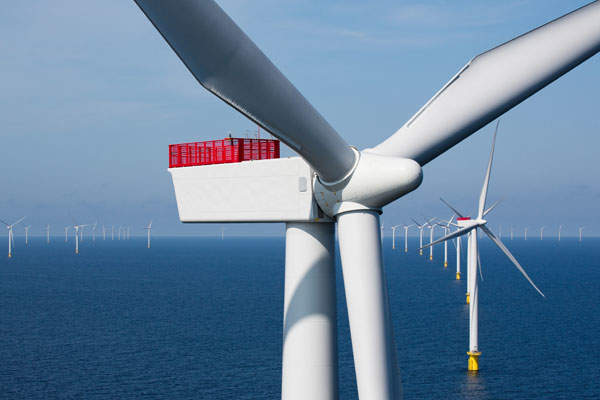 The Anholt wind farm is operated by DONG Energy.