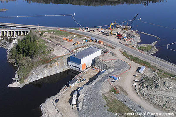 Lac Seul hydroelectric power plant began commercial operations in February 2009.