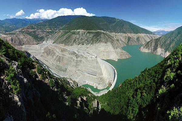 Deriner Dam is the tallest dam in Turkey and one of the world's tallest dams. Image courtesy of Poyry.