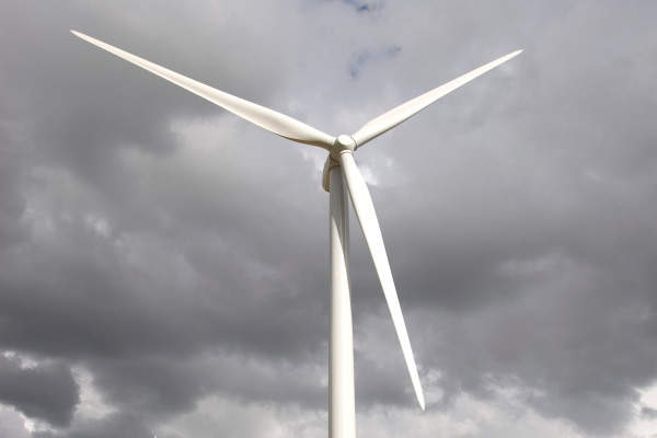 Electricity generated by the wind farm can power 15,000 homes in NSW. Image courtesy of Origin Energy.