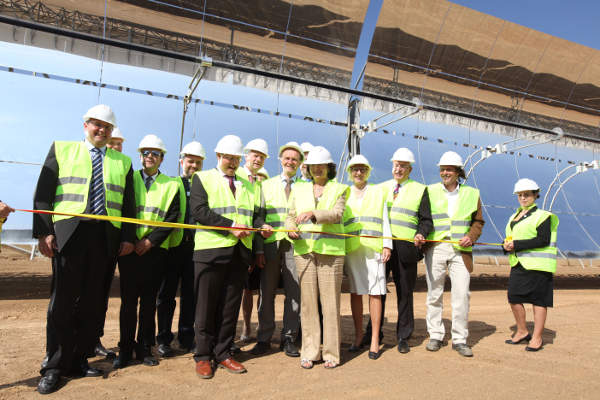 The Andasol 3 Solar Power Plant was inaugurated in September 2011.