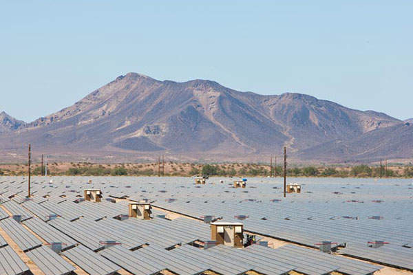 Agua Caliente is the first US solar power plant to use SMA's Sunny Central PV inverters.
