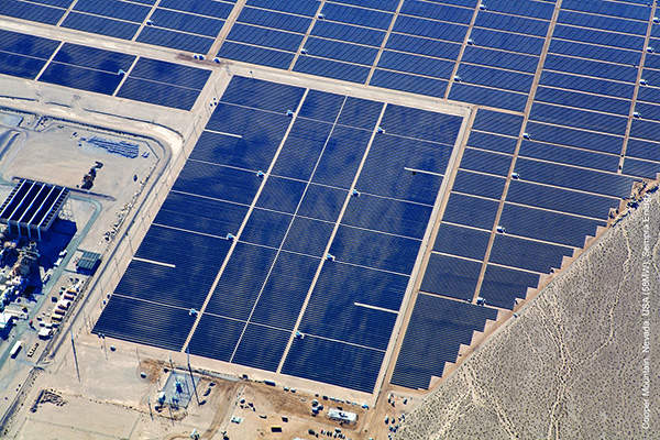 Copper Mountain Solar 1 is located adjacent to the 10MW El Dorado solar power project.
