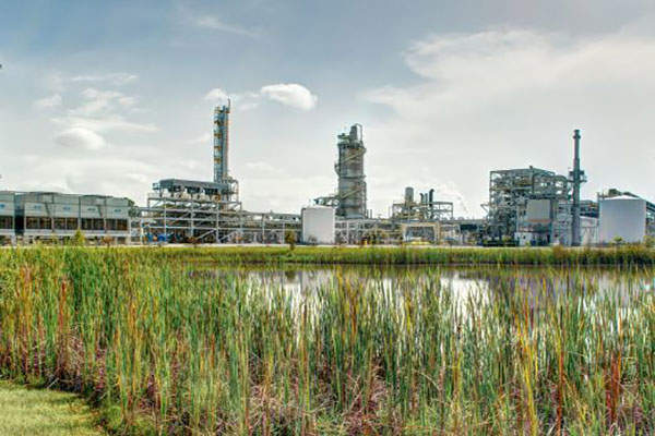 The INEOS New Planet Bioenergy Center is located near Vero Beach in Florida, US. Image: courtesy of INEOS Bio.