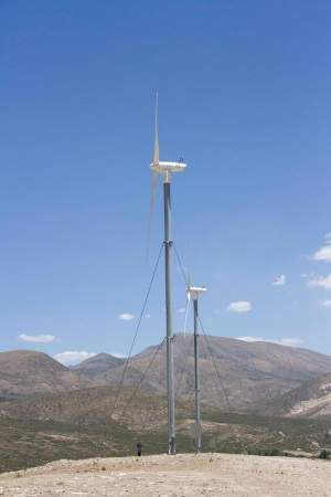 turbine installation for remote locations