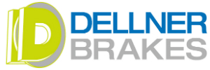 Dellner Brakes logo with JHS green D
