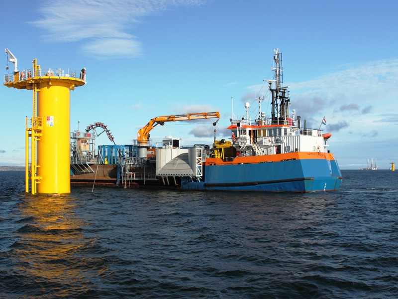 Van Oord was the EPC contractor for the Gemini offshore wind project. Credit: Van Oord.