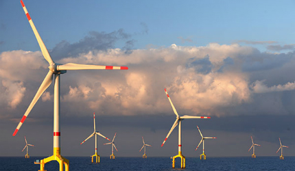 BARD Offshore 1 wind farm, Germany