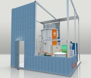 PARAT high-voltage hot water boiler