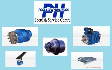Poclain Hydraulics high-torque ground drives