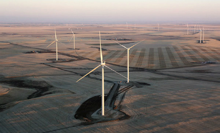 The wind farm is owned by EDF EN Canada (50%) and Enbridge (50%).